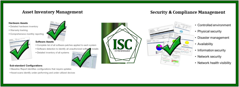 Asset Management, Security & Compliance Management are few of the services we offer.